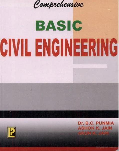 basic civil engineering  punmia engineering ebooks