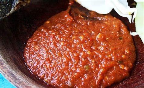 Sambal Pecel Glodak Gurih resep sambal pecel lele pedas resep masakan kuliner