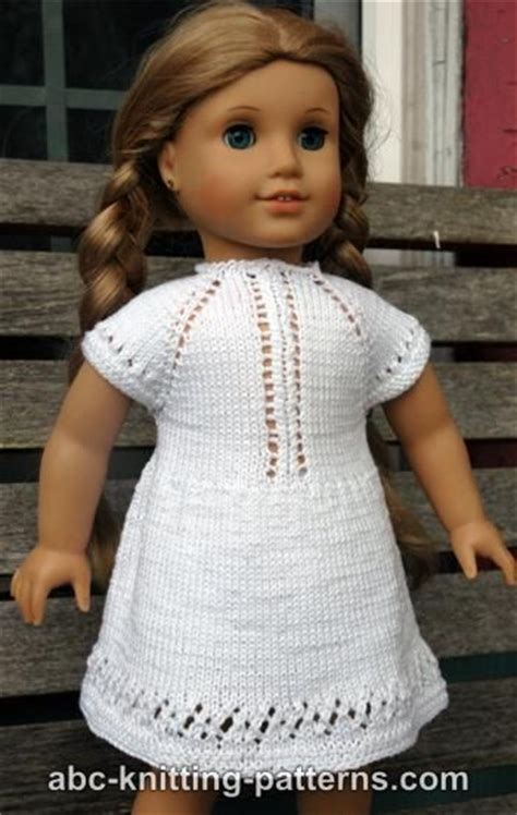 18 inch doll clothes knitting patterns free free pattern knit american 18 inch doll summer