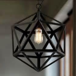 Elegant black retro rustic ceiling light new industrial style pendant