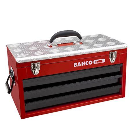 schubladen metall metall werkzeugbox mit schubladen und deckelfach bahco