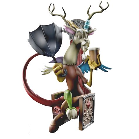 discord zoomed in my little pony guardians of harmony fan series discord figure