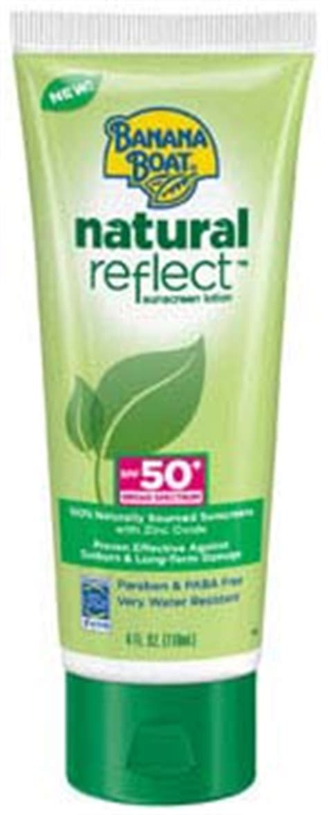 banana boat sensitive ingredients banana boat natural reflect sunscreen lotion