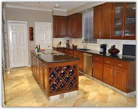 Kitchen Cabinets With Wine Rack Kitchen Cabinet Wine Rack Home Design Ideas