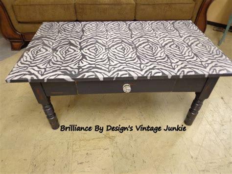 zebra print coffee table stuff we paint brilliance by