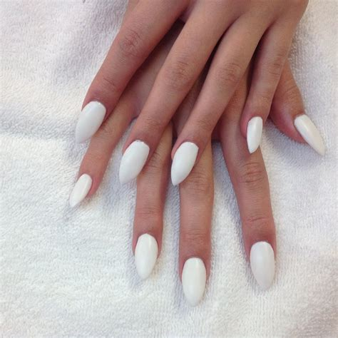 matte pointed nails acrylic gelish pointed shape with matte white yelp