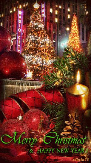 merry christmas   happy  year gif christmas lights christmas scenes  merry christmas
