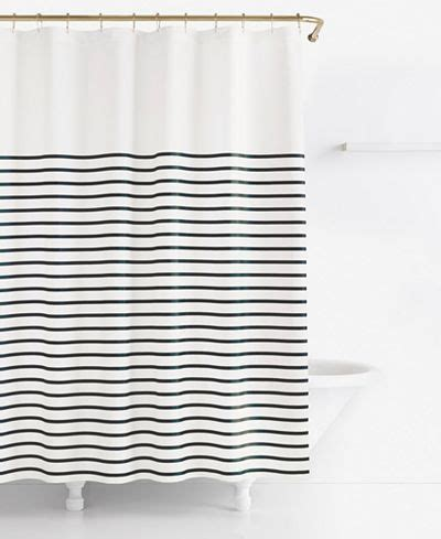 kate spade striped shower curtain kate spade new york harbour stripe shower curtain new