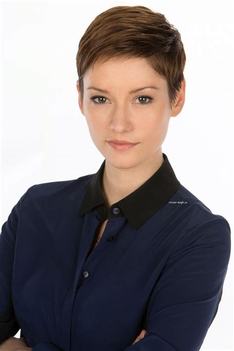 chyler leigh short hairstyles best short pixie haircut for fine picture of chyler leigh hair pinterest chyler leigh
