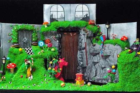 and the chocolate factory edible room cake dahls