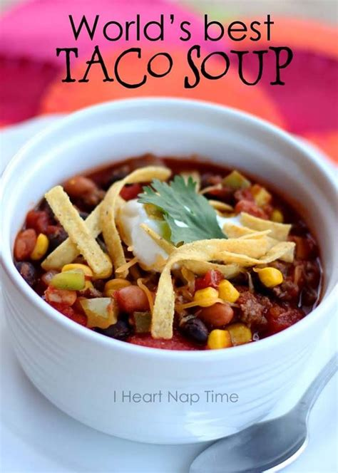 world s best taco soup recipe