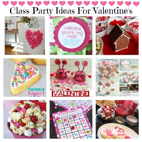 valentines ideas for class 14 s treats squared