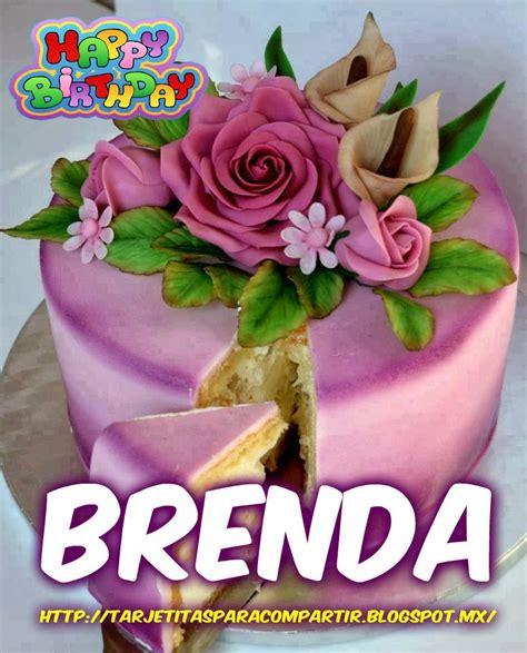 Imagenes De Cumpleaños Para Brenda | ღღtarjetitasღღ feliz cumplea 241 os brenda
