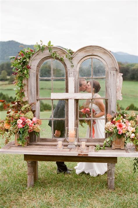 Backyard Wedding Altar Ideas Outdoor Wedding Altar