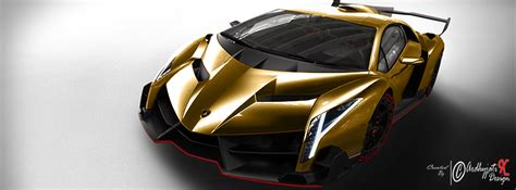 lamborghini veneno gold lamborghini veneno gold colour by ardhyjatixdesign on