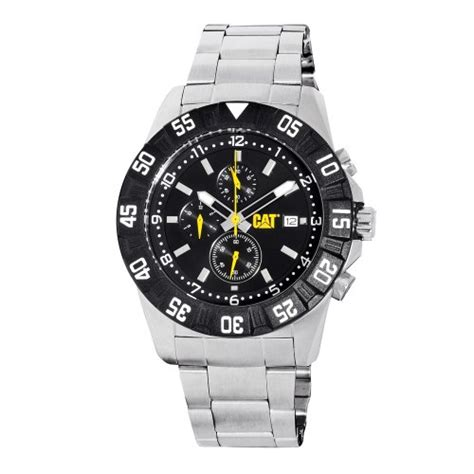 Caterpillar Pm14311131 cheap price cat s pm14311131 dp sport chrono black analog with stainless steel