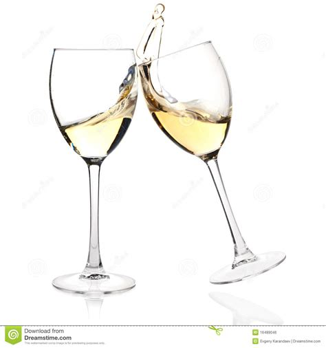 cartoon wine glass cheers clink glasses royalty free stock image image 16489046