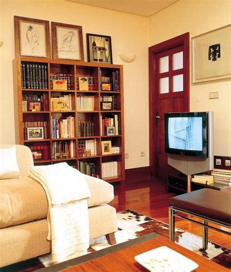 small home library inspirational small home library