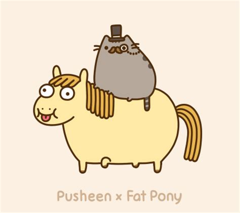 i am pusheen the cat pusheen