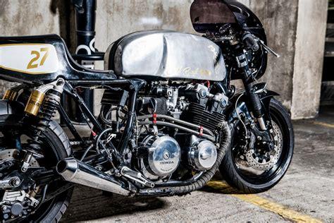 honda cb 900 honda cb900 cafe racer bikebound