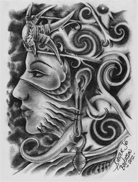 dayak tattoo art sur real dayak girl by sylvesterjuli on deviantart