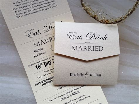 vintage tri fold wedding invitations wedding invites