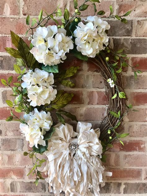 How To Make A Wedding Wreath For Front Door
