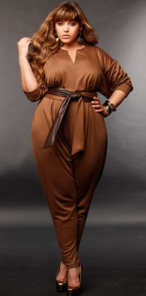 Lg Jumpsuit Venus catherine ponte knit jumpsuit w leather sash belt mocha