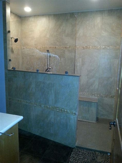 custom walk in showers 28 best images about walk in shower with bench seat on