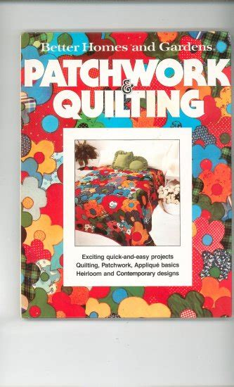 Patchwork And Quilting Supplies Uk - patchwork quilting by better homes and gardens 0696001756