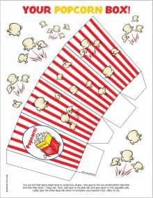 Popcorn Printable Template by 12 Free Diy Popcorn Box Printables For A Better Family