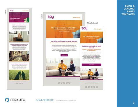 Marketo Templates Portfolio Landing Page Templates Email Templates Perkuto Marketo Landing Page Templates