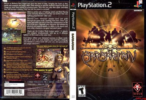 emuparadise iso ps1 barbarian usa iso