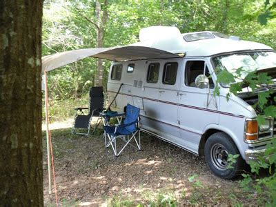 van side awning parablesblog a wilderness experience