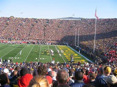 Big House Student Section by Creating A Minor League For Football And Basketball Could