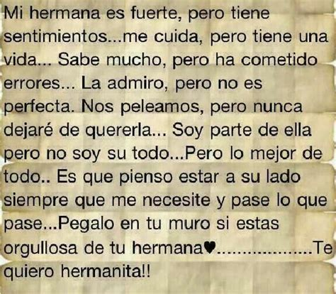 frases para un hermana con imagen 1000 images about hermanas on pinterest te amo tes
