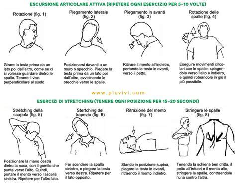 Esercizi Schiena Casa by Rilassare Il Collo E Le Spalle Esercizi E Prevenzione