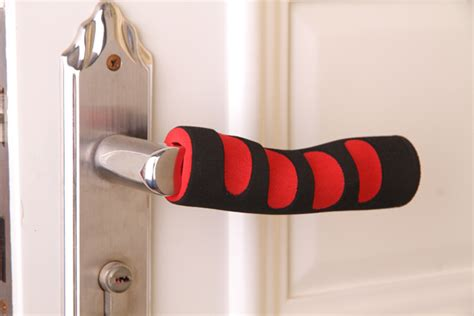 Door Knob Covers For Lever Handles by Rubber Handle Cover For Stroller Colored Foam Handle