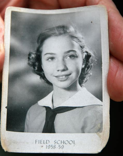 hillary clinton s childhood growing up in protected americana hillary clinton looked