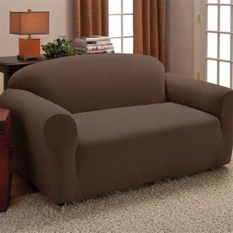 stretch husse sofa mit ottomane sessel husse braun williamflooring