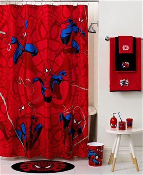 marvel superhero bathroom accessories marvel bath spiderman sense shower curtain bathroom