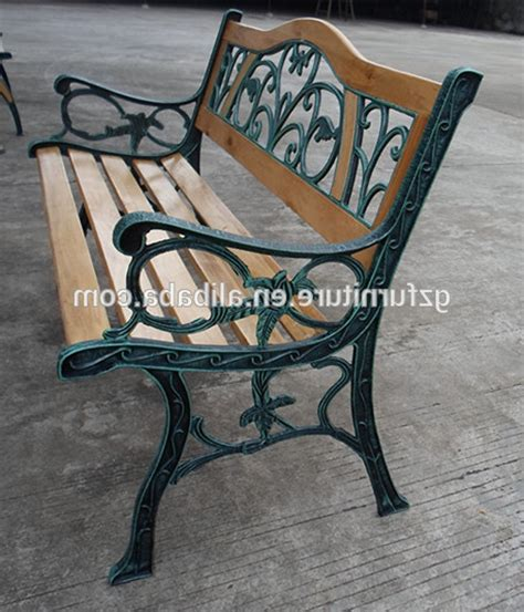 wood and wrought iron bench garden bench wrought iron and wood militariart com