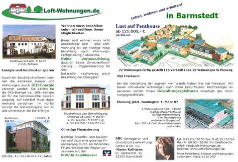 www wohnungen de loft wohnungen in barmstedt aktuelle werbung