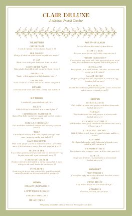 fancy restaurant menu template fancy menu menus