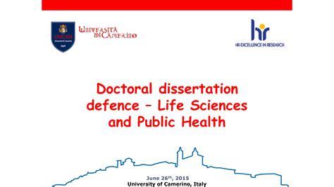 defense dissertation master thesis defence ppt