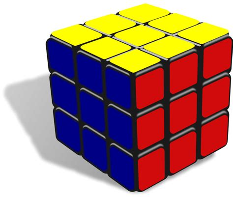 rubik s cube free to use domain rubik s cube clip