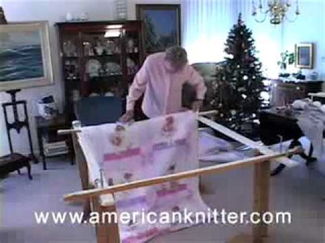 tie quilting how to 2 of 3 attaching the quilt to
