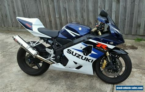 Used Suzuki Gsxr 750 Sale Suzuki Gsxr 750 K4 2004 Gsx R For Sale In Australia