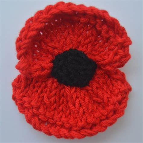 knitting pattern red poppy poppy pattern for next year by libby summers