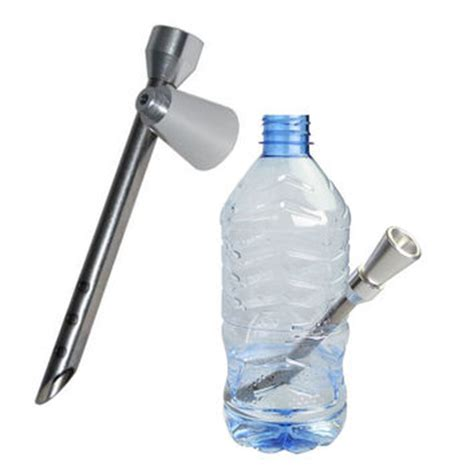 Bong Acrylic Water Pipe Polos Ulir Miring bong spear make your own bong from any from dabwizard